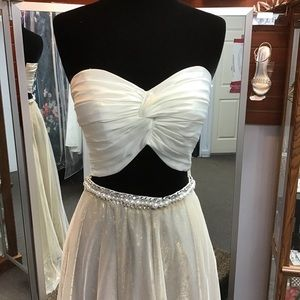 Alyce KP107 size XS (0) in ivory gold